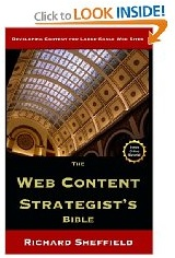 The Web Content Strategist&#39;s Bible - Available on Amazon.com
